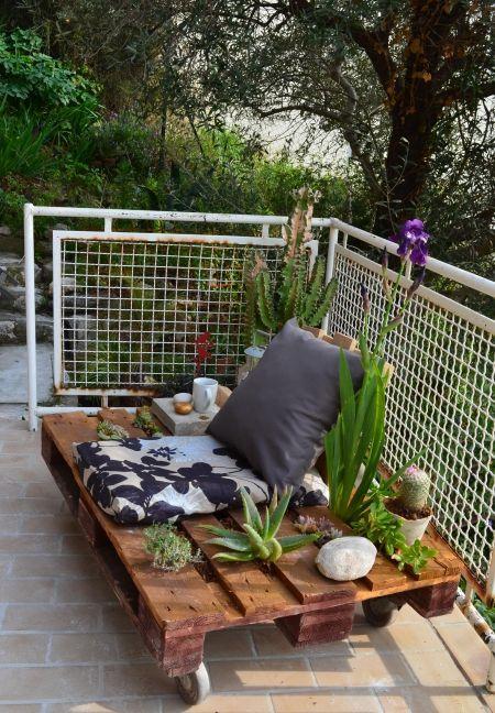 Fabriquer un brise-vue pour une terrasse°° | Relooking, Concours ...