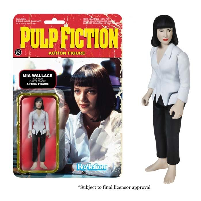 Inch Retro Action Figure Pulp Fiction Marsellus Wallace ReAction 3 3//4