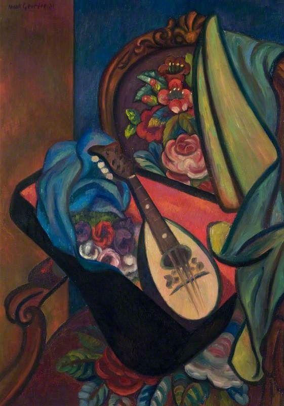 GERTLER, Mark British (1891-1939)_The Mandoline - 1931