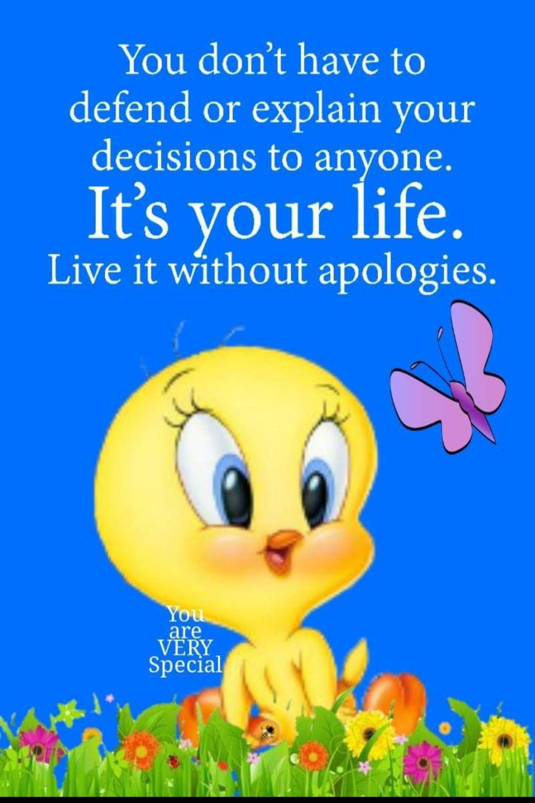 Pin By Kathleen On Quotes Tweety Bird Quotes Happy Morning Quotes Inspirational Quotes For Kids