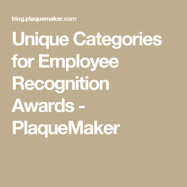 Host Your Own Office Dundies Ten Employee Recognition Awards