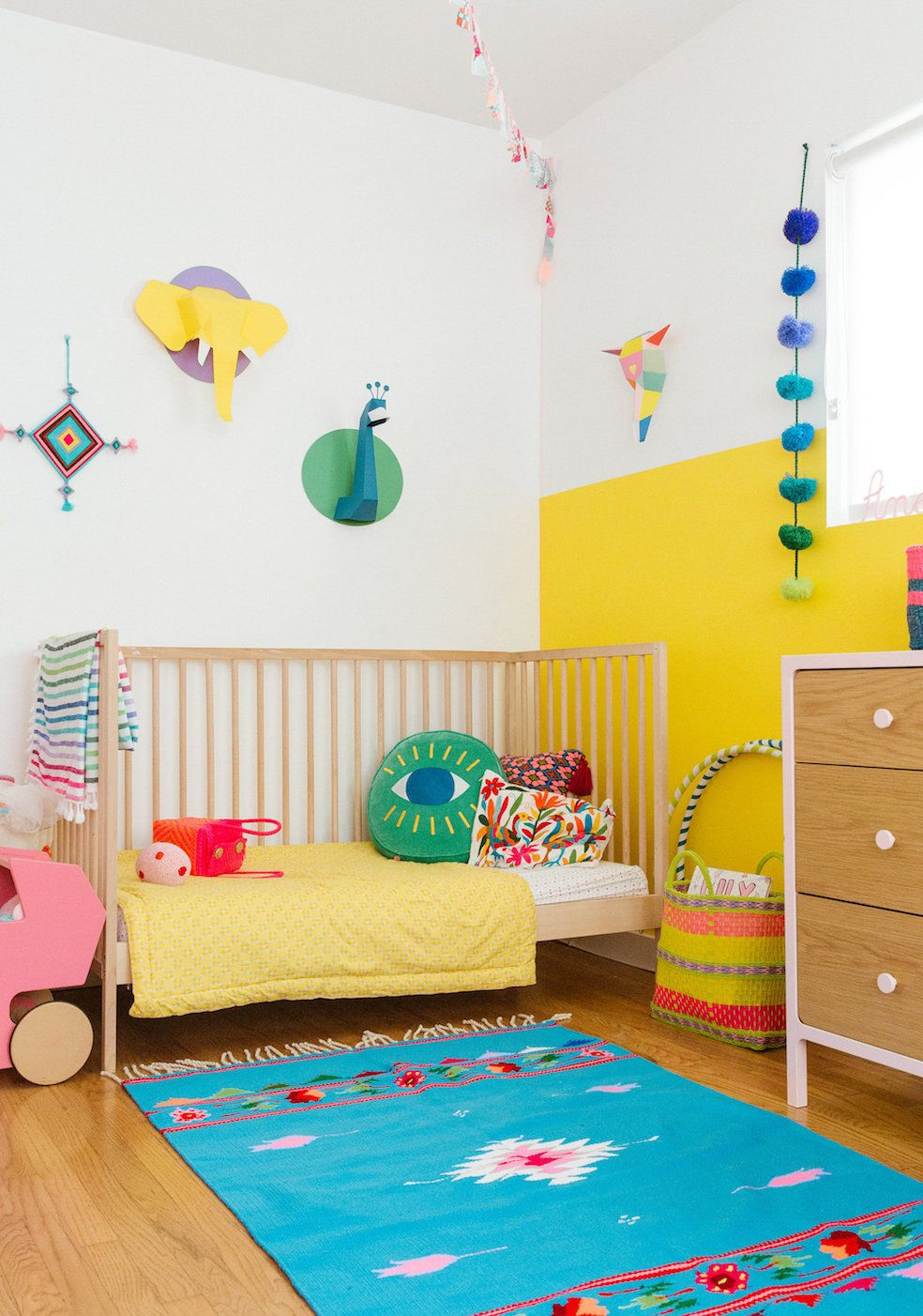 A Colorful Home in Venice Beach | Venice beach, Nursery and Kids rooms