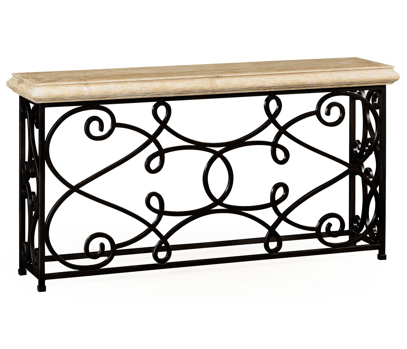 MICRO TREND // 12 Wrought Iron Products That Add Old World Style To Your  Home. Console Table: This Rococo Table Definitely Will Give Any Home The  Feeling Of ...