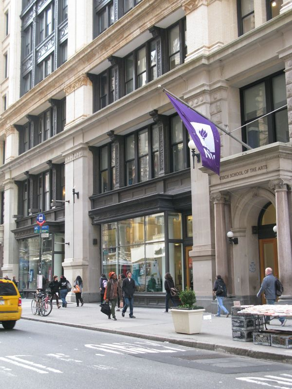 Tisch School Of The Arts At NYU, Appropriately Located On