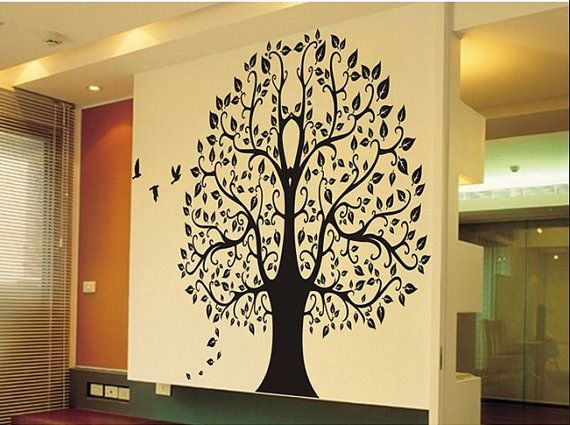 Tree Vinyl wall sticker wall decal decals wall by Isabeljia