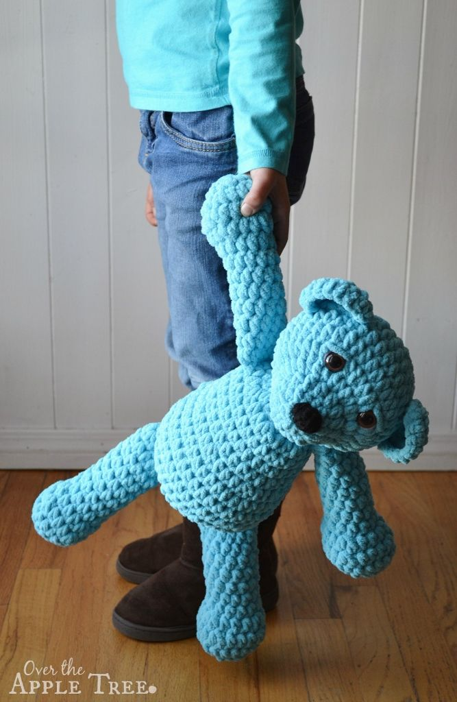 Super Squishy Crochet Bear by Over The Apple Tree | Projekte ...