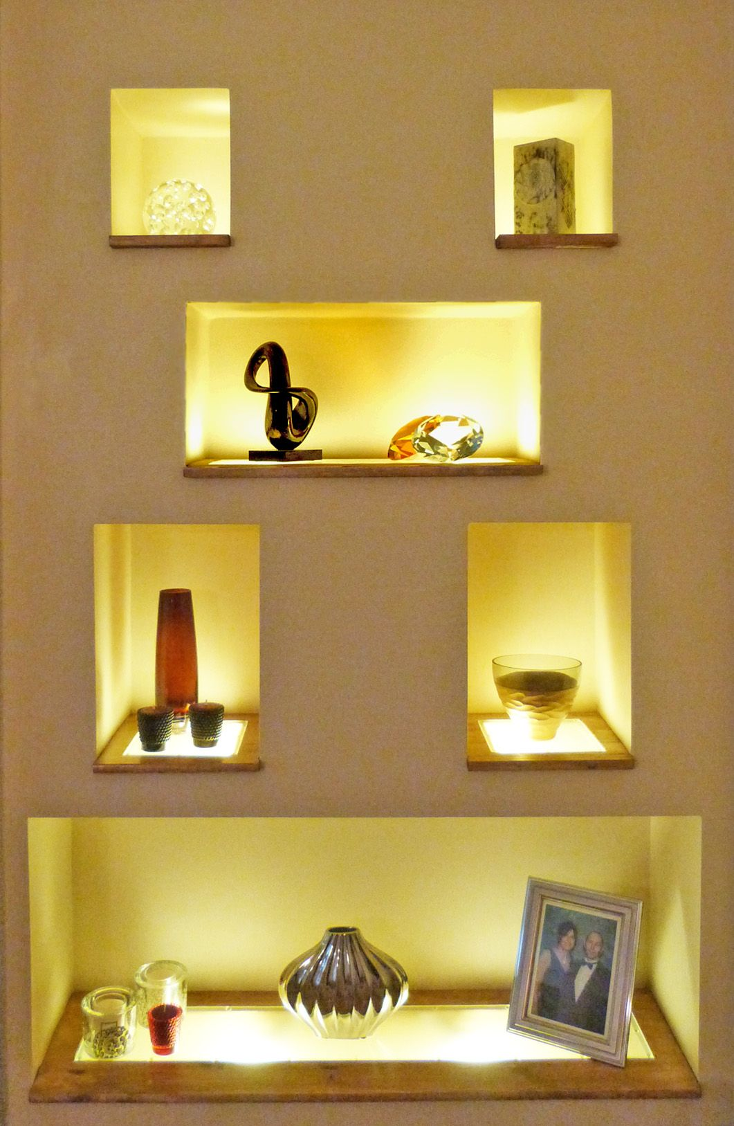 recessed alcove lighting - Google Search | Interiors | Pinterest ...