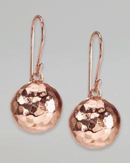 Ippolita Hammered Ball Earrings v9HgTHNh