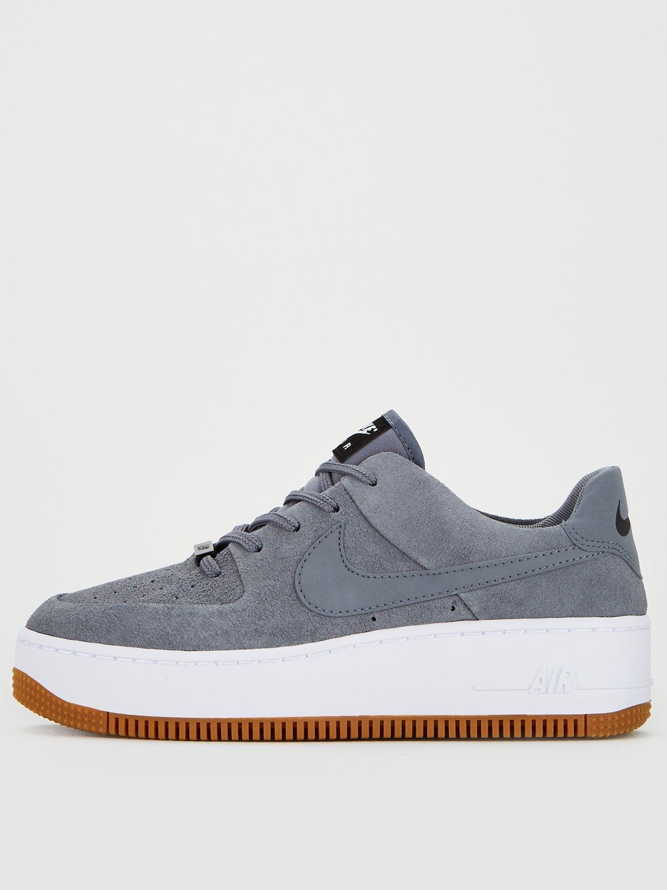 Nike Air Force 1 Sage Low GreyBlackWhite, GreyBlack