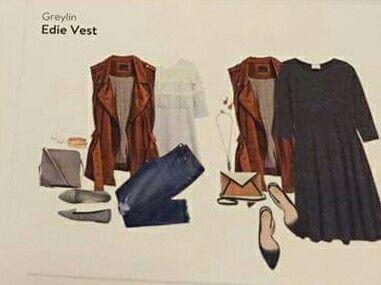 Greylin Edie Vest - want!! So cute and versatile