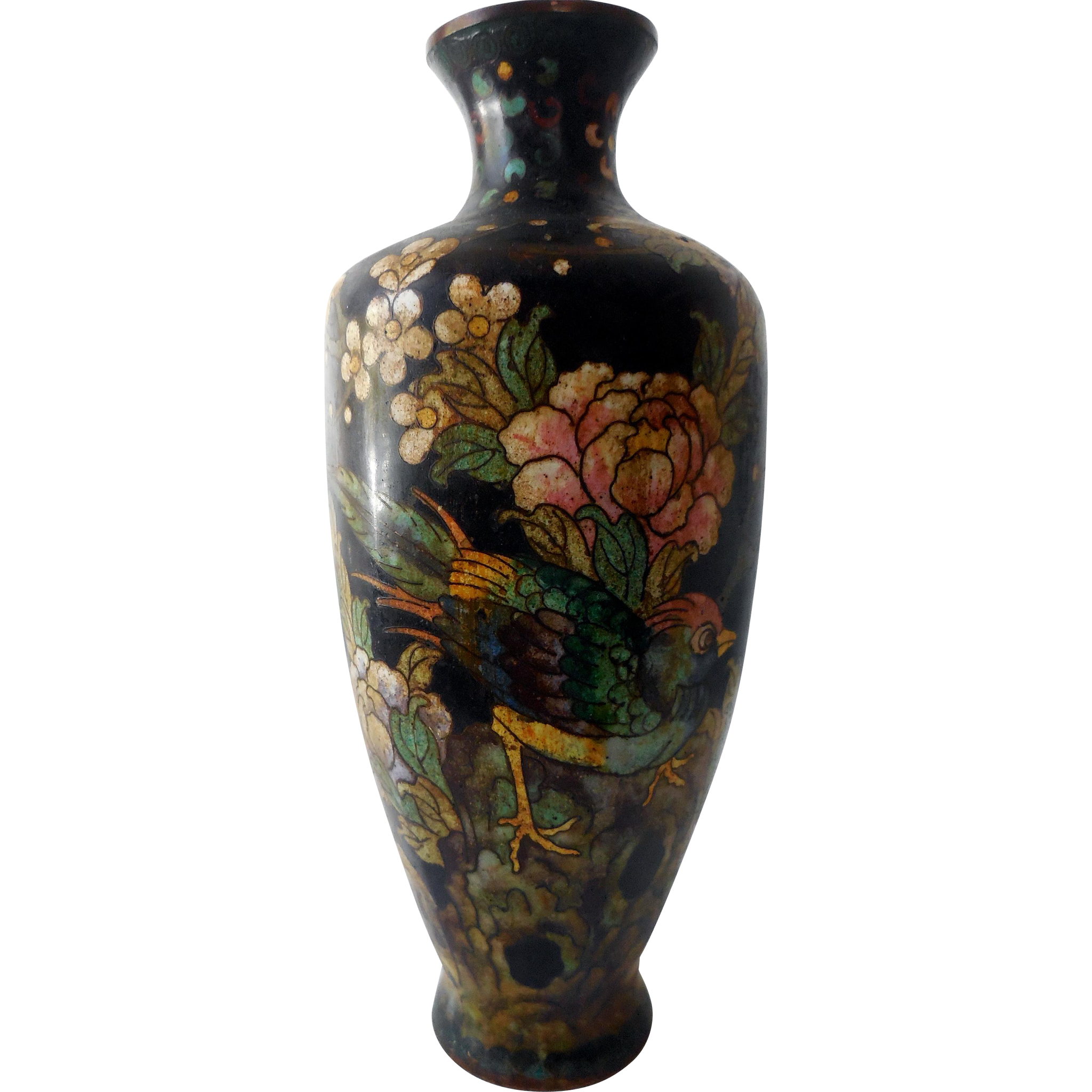 Antique chinese cloisonne vase 19th c great ming mark mark price antique chinese cloisonne vase 19th c great ming mark reviewsmspy