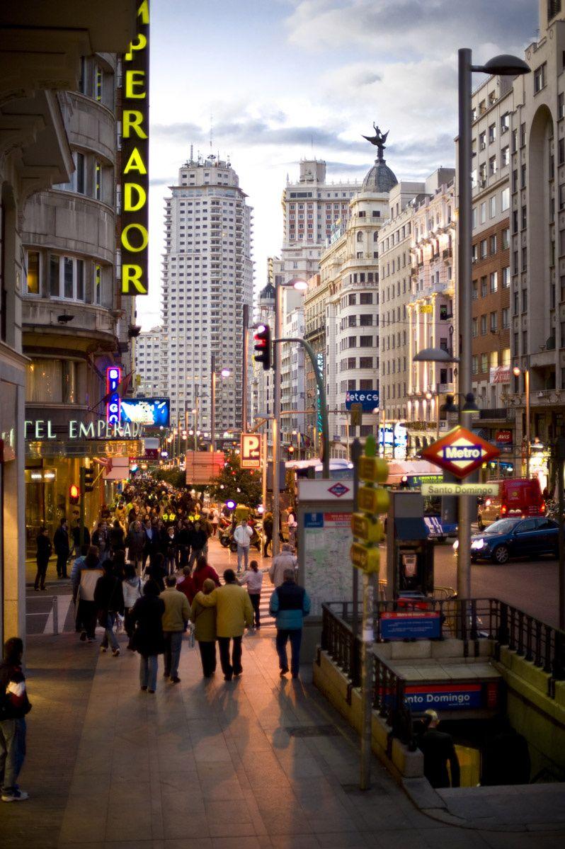 100 cosas sobre madrid que deber as saber madrid Metro santo domingo madrid