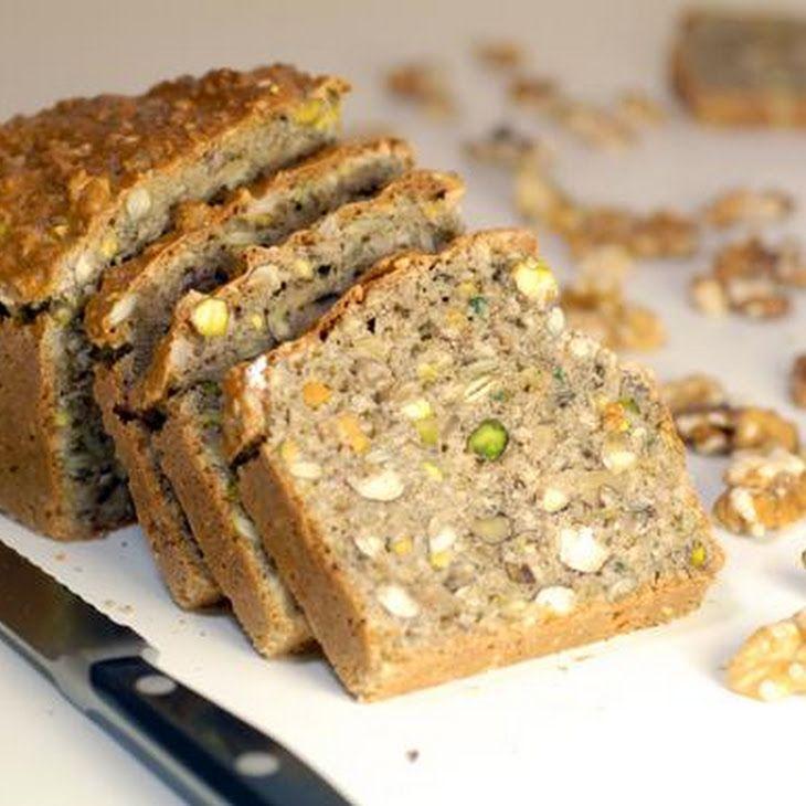 Gluten Free and Grain Free Nut Bread Recipe Grain free