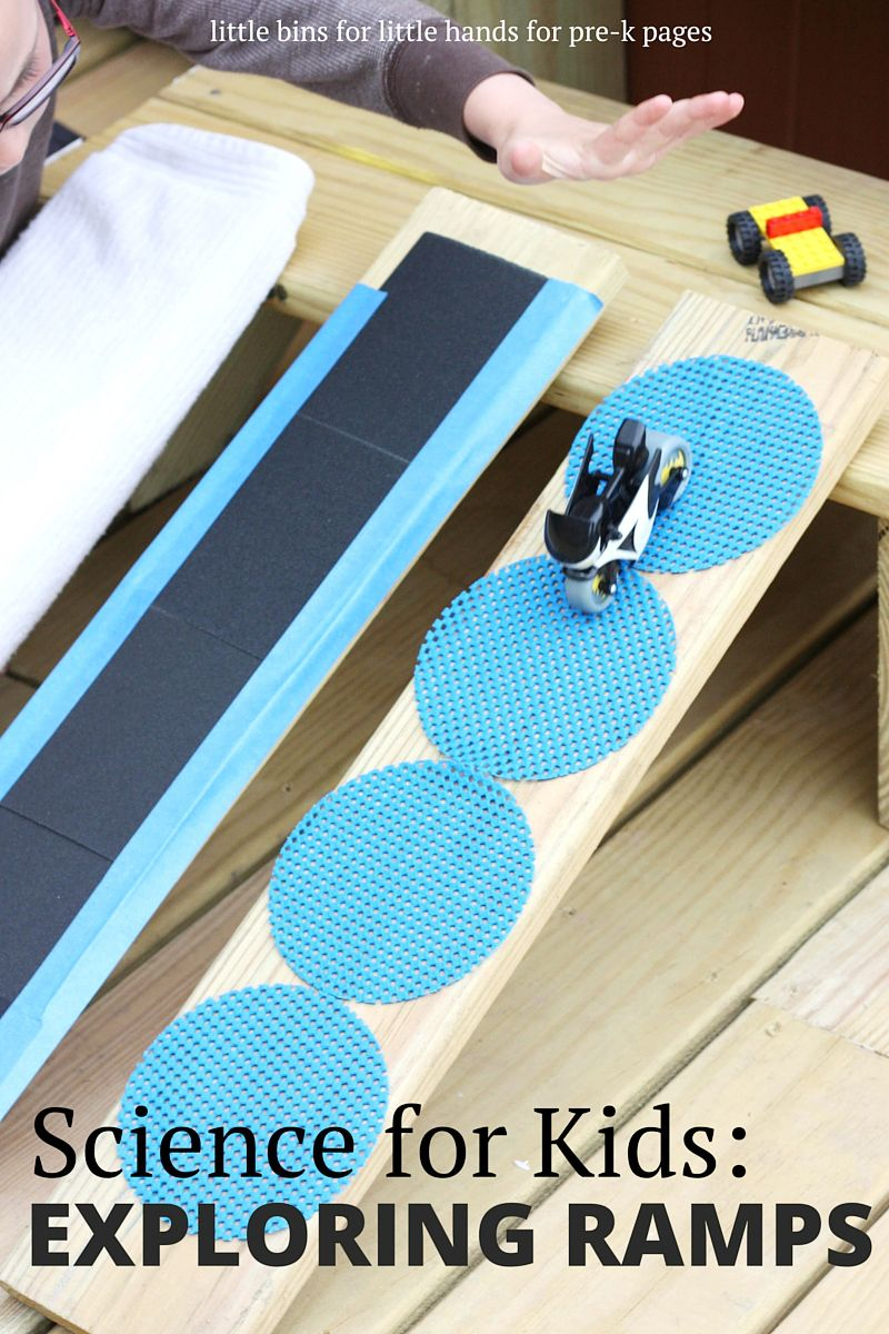 science for kids exploring ramps and friction physics cars and
