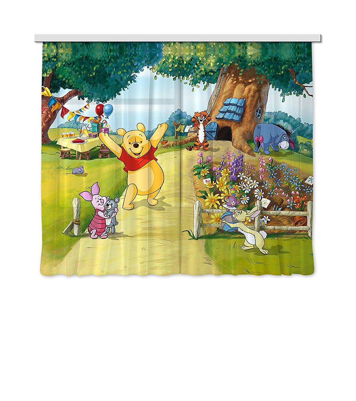 Winnie Pooh Vorhänge für das Kinderzimmer | Kinderzimmer ...