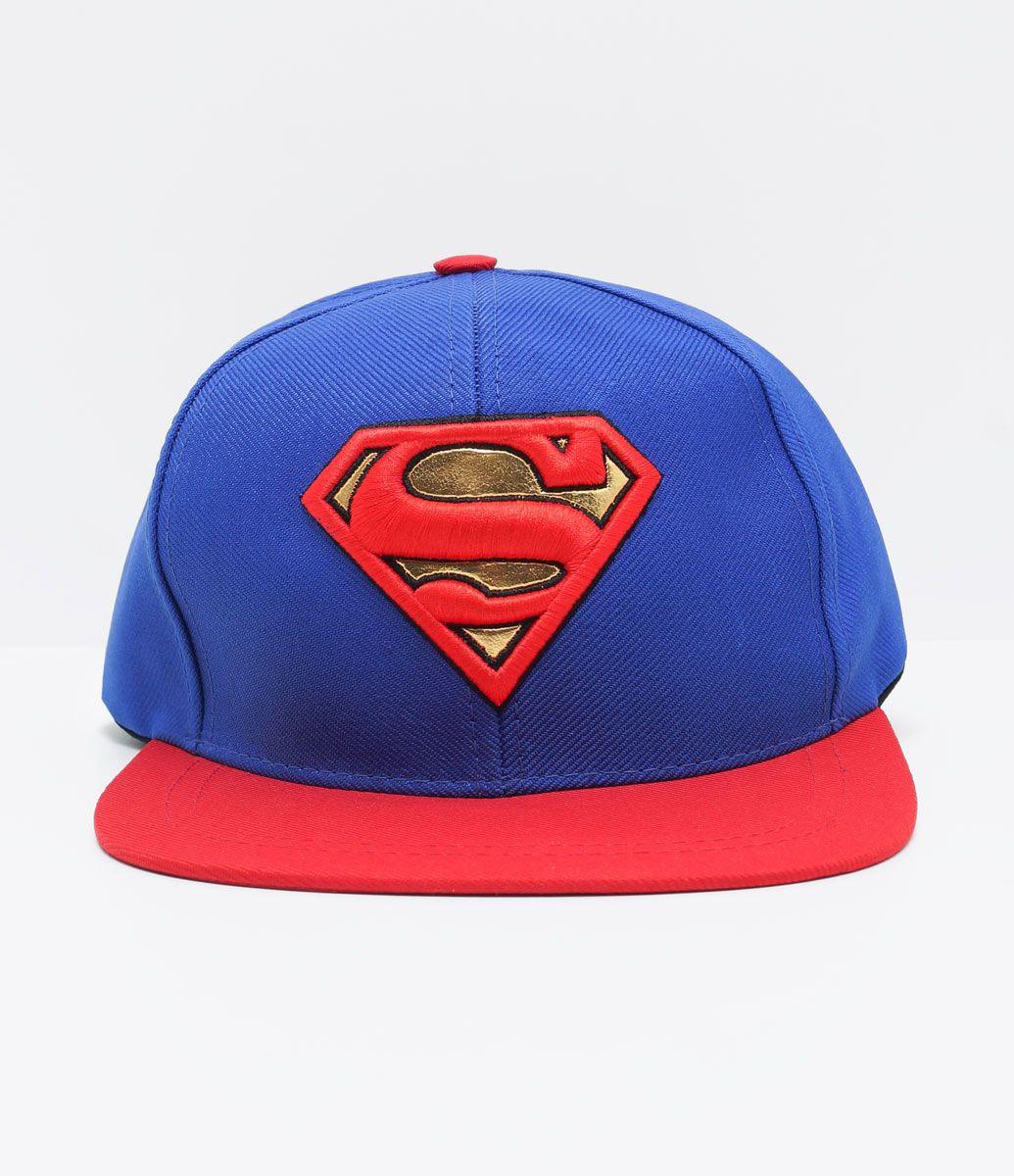 Boné infantil Modelo aba reta Estampa Super Homem Marca  DC Originals  COLEÇÃO VERÃO 2017 Veja f27791cdc80
