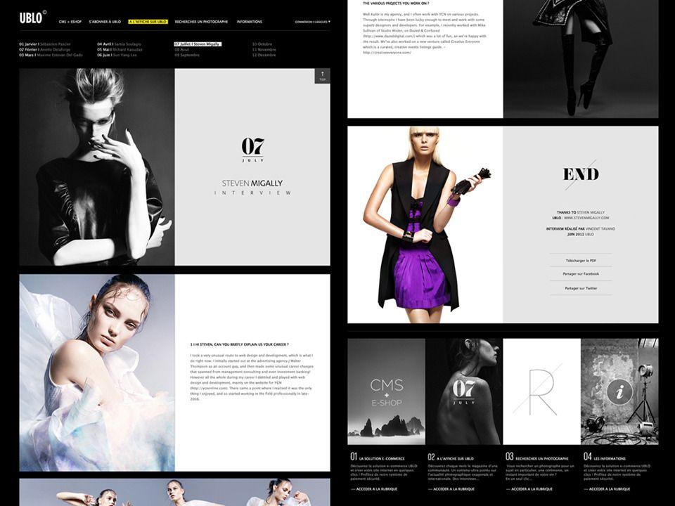 Ublo Solution Tavanovincent Web Layout Design Web Design Modern Web Design