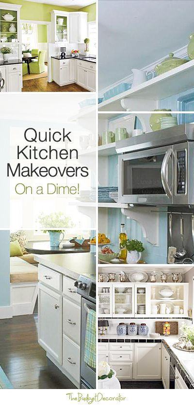 Quick Kitchen Makeovers On A Dime  Kitchen Makeovers Kitchens Interesting Design On A Dime Kitchen Review