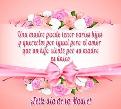 Frases Lindas Por El Dia De La Madre Feliz Día De La Madre