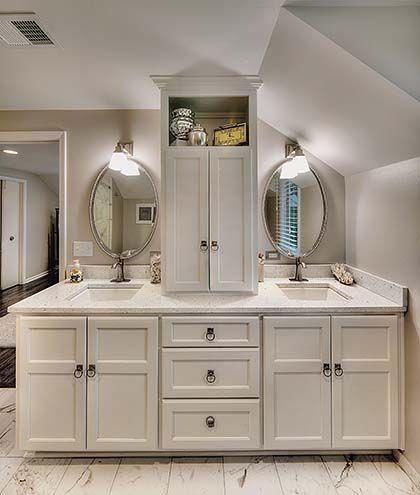 HOME ADDITION PRAIRIE VILLAGE KS MASTER BEDROOM BATHROOM - Bathroom vanities overland park ks