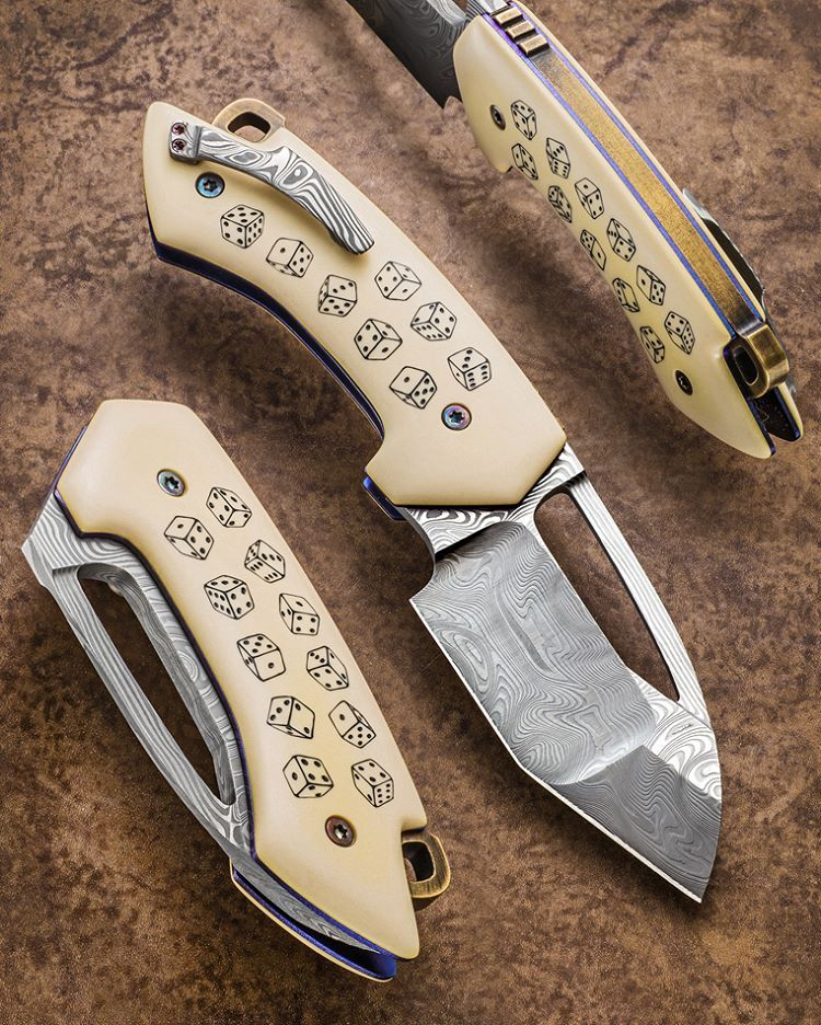 Anders @HogstromKnives rolls the dice and comes up a winner…