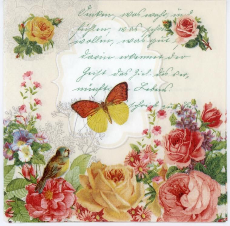Rice Papers Angels Vintage for Decoupage Scrapbook and Crafting Sheet 287