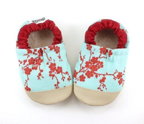 aa41a18d4b471 Buy Now LAST PAIR 0-6 mos // cherry blossom shoes purple flower ...