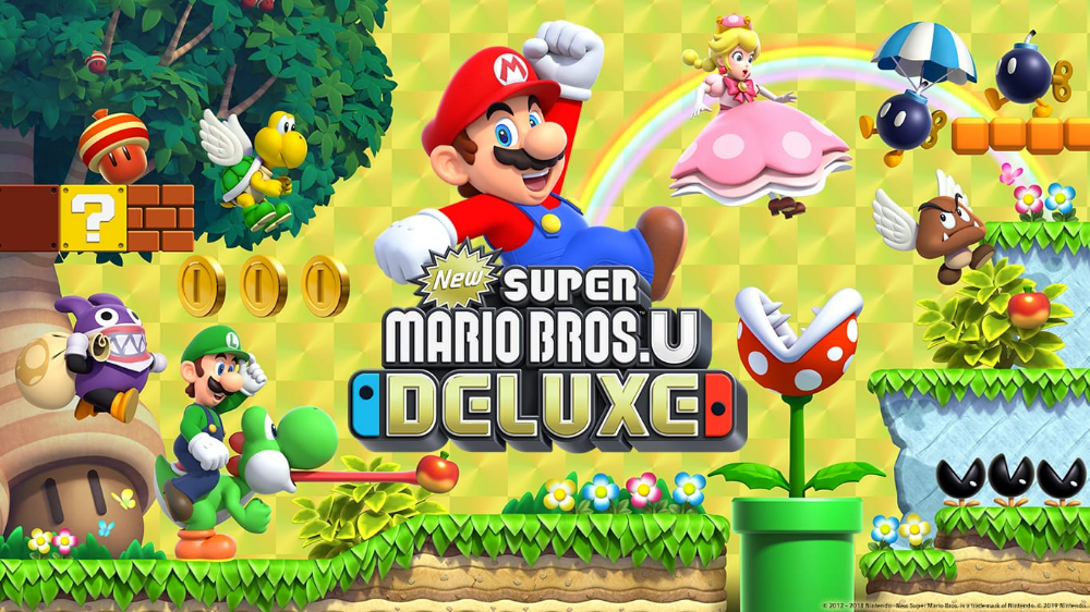 New Super Mario Bros U Wallpapers