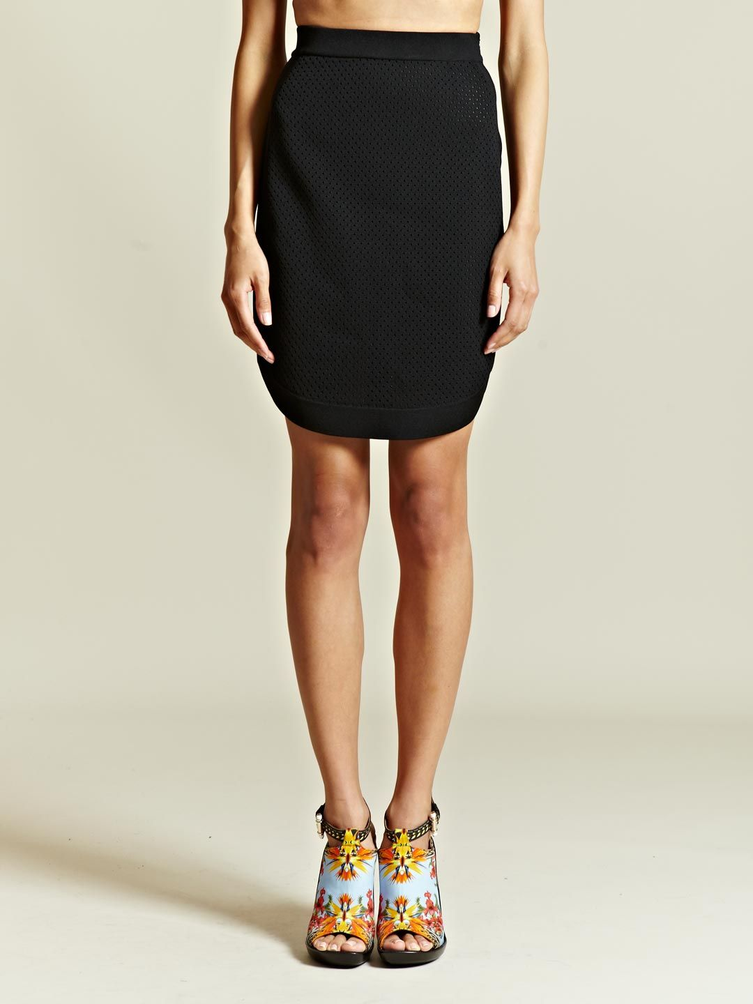 Givenchy Women's Perforated Tablet Skirt | LN-CC