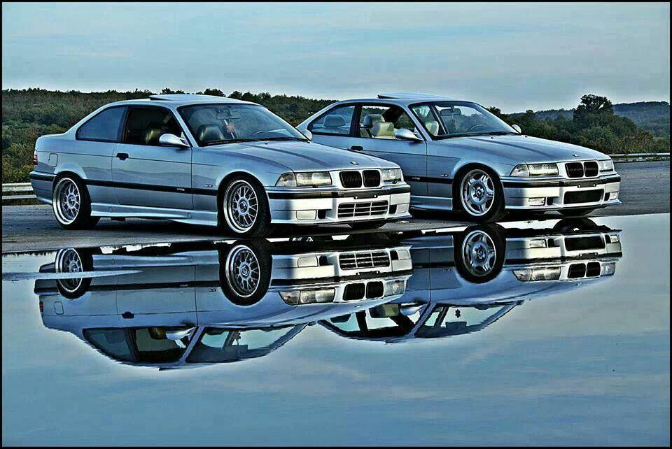 Bmw E36 M3 Silver Duo Bmw Bmw Alpina Bmw E36