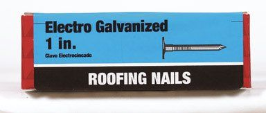 Grip Rite 1egrfg1 1 Lb 1 Electro Galvanized Smooth Or Barb Shank Roofing Nail Want To Know More Click On The Image Roofing Nails Roofing Galvanized