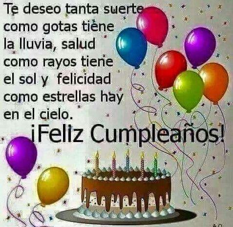 Tarjetas De Cumpleaños Gratis Para Enviar Por Facebook