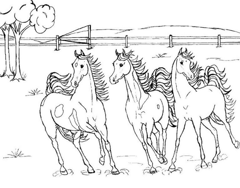 Free Printable Horse Coloring Pages For Kids Horse Coloring Pages Horse Coloring Shopkins Colouring Pages
