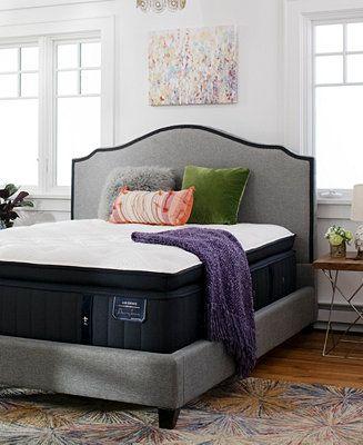 Estate Cassatt 15 Luxury Firm Euro Pillow Top Mattress - King #pillowtopmattress
