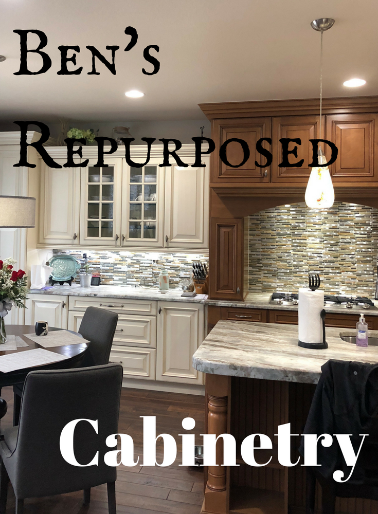 Recycled Quality Kitchen Cabinets - Ben's Repurposed ...