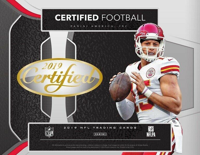 Advertisement Ebay 2019 Panini Certified Football Factory Sealed