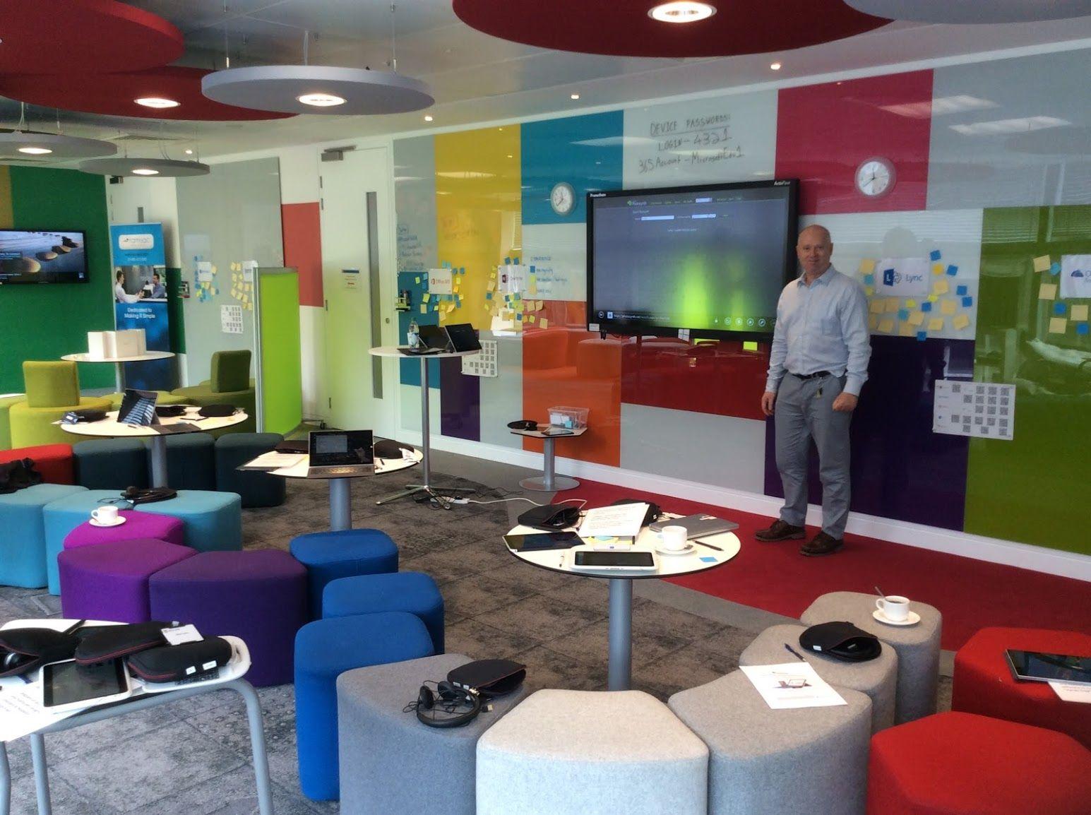 Microsoft Showcase Classroom London. | Classroom Design ...