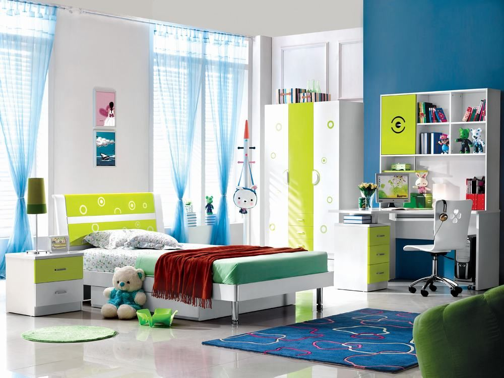 Princess Bedroom  Bed Dresser & Mirror  Twin 2286  Bedroom Amusing Kids Bedroom Set Inspiration
