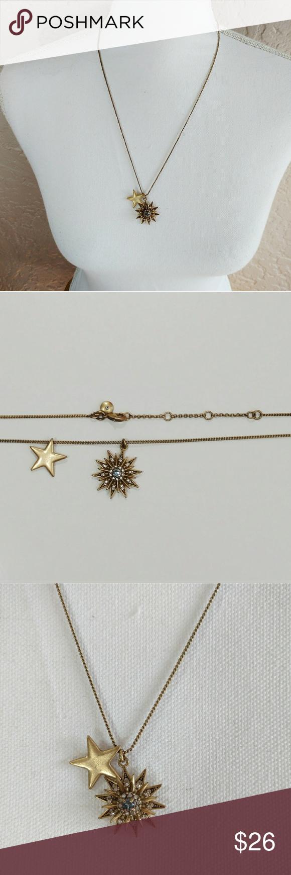 J crew sun u star pendant necklace pinterest