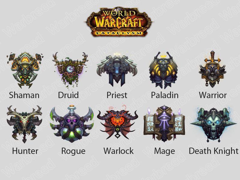 Resultado de imagen para clases de world of warcraft