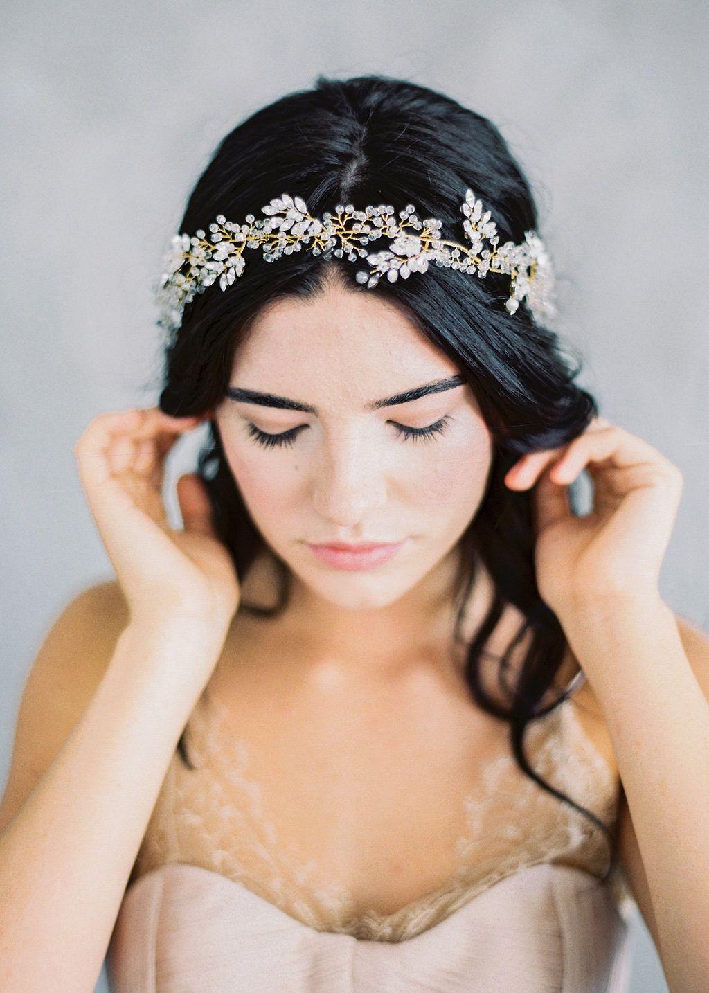delicate and romantic adornments for the fine art bride | fine art
