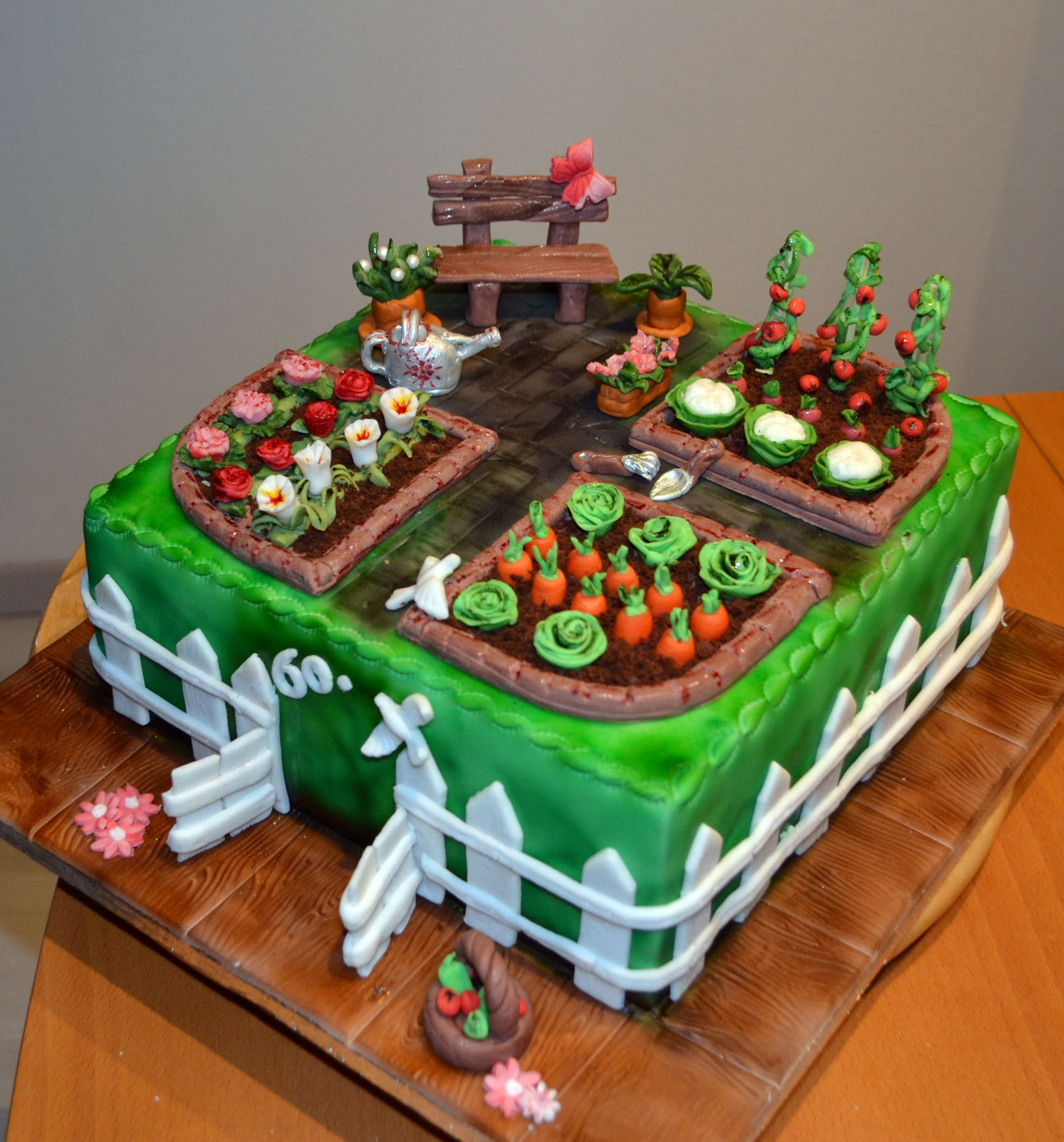 Gemuse Garten Torte Gartenkuchen Geburtstagstorte Motivtorten