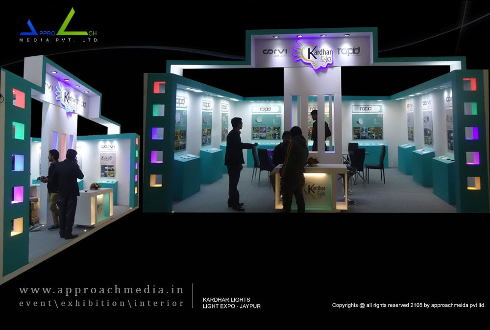 Customized Exhibition Stand Developer In Jaypur Display Setup Mumbai Bangalore Delhi