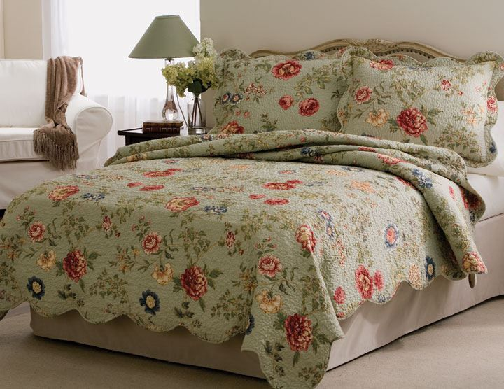 sheets set bedding size romantic cotton queen item patchwork fadfay quilt bedspread floral quilts