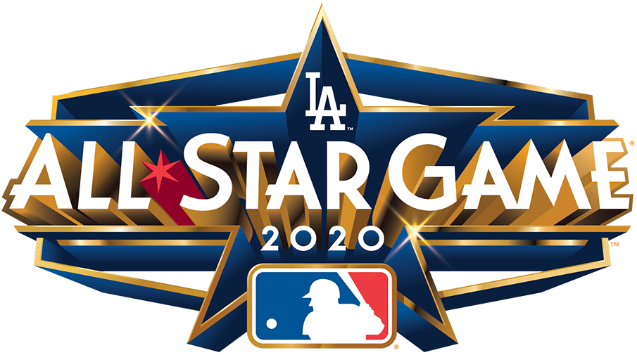 Mlb All Star Game Primary Logo 2020 2020 Mlb All Star Game Logo In Los Angeles Ca Mlb Team Logos Mlb All Star