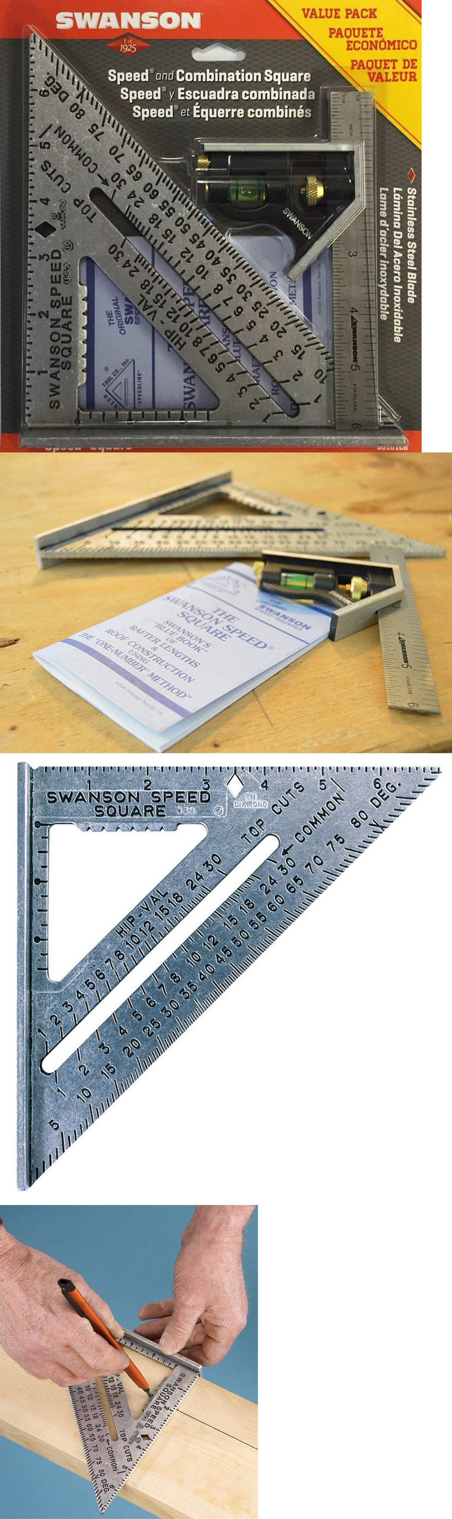 Details About Speed Square Layout Tool With Blue Book And Combination Square Swanson S0101cb Speed Square Blue Books Swanson Speed Square