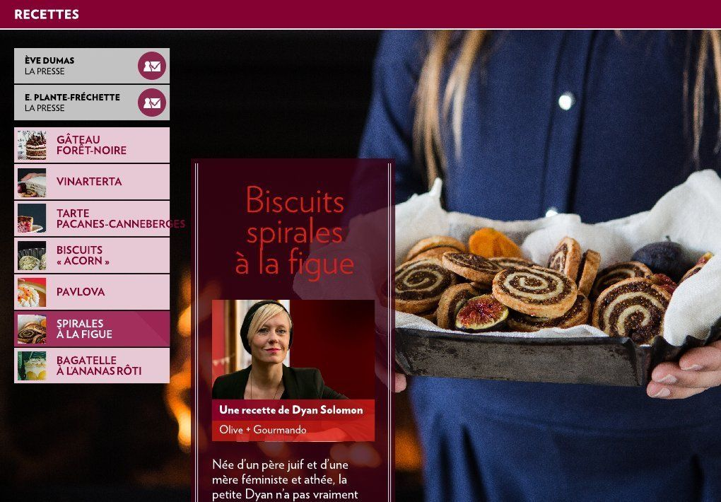 Les desserts des chefs - La Presse+