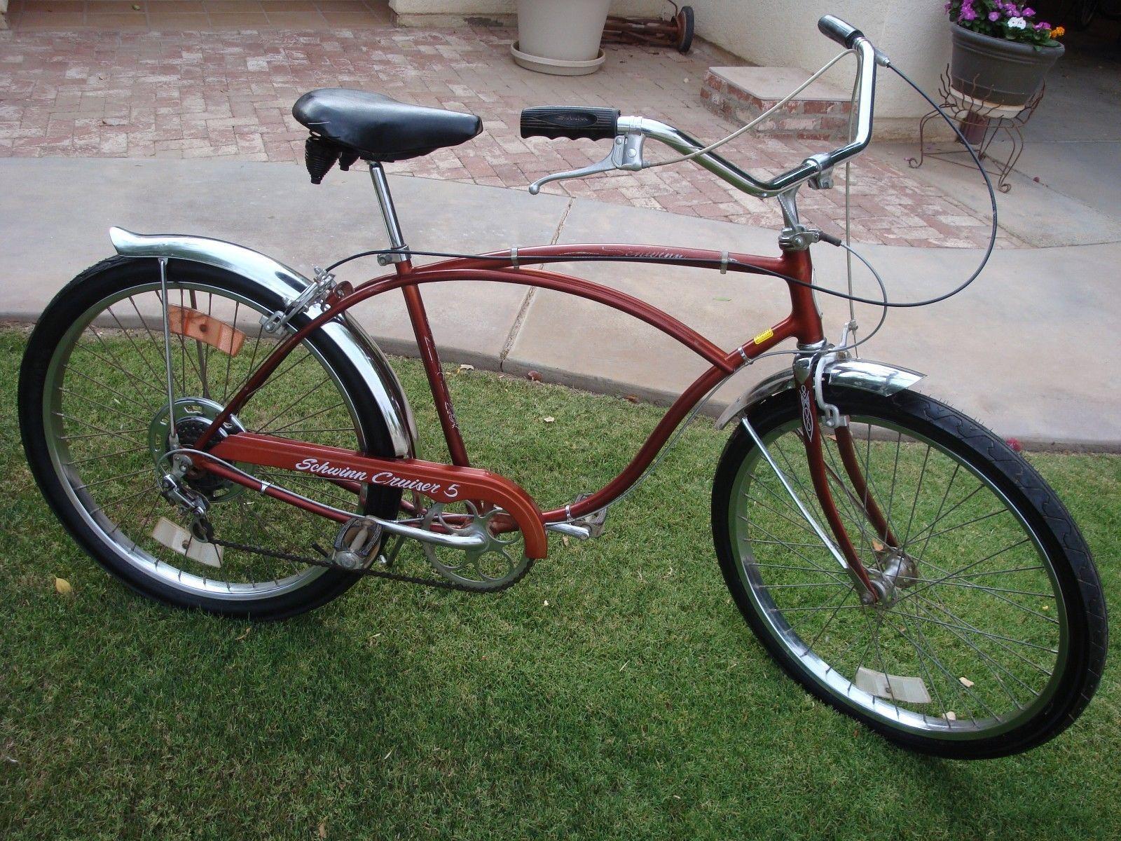 Schwinn Cruiser 5 Original Vintage Cruiser Bicycle | eBay