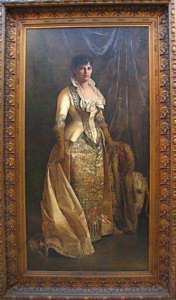 Retrato de Carmen Bacallao de Malpica
