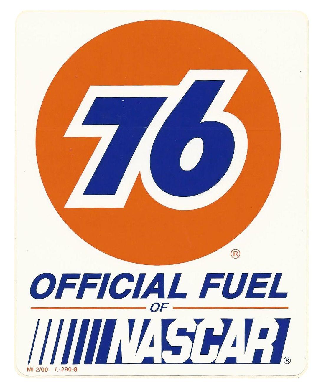 76 nascar vintage race logo decal sticker Vintage Racing